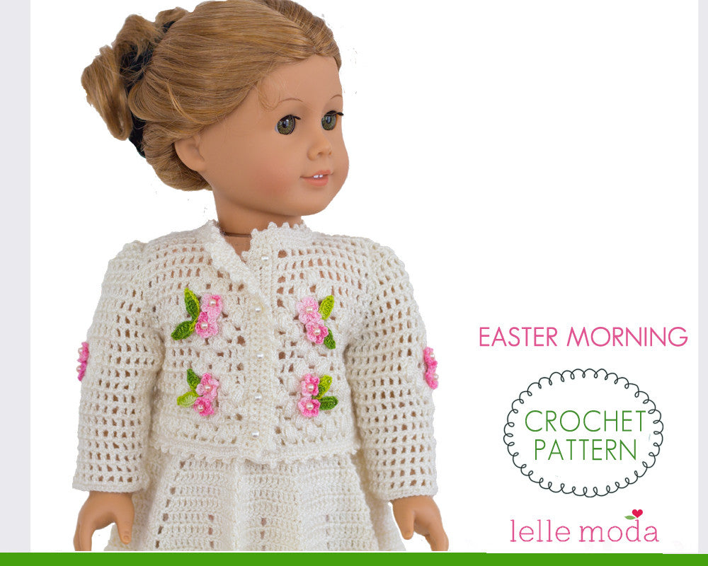 Crochet clothes for American Girl doll