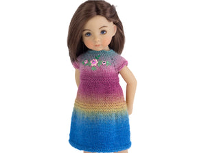 Basic dress for Little Darling dolls by Dianna Effner