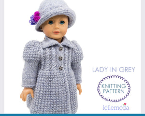 coat and hat pattern for american girl doll
