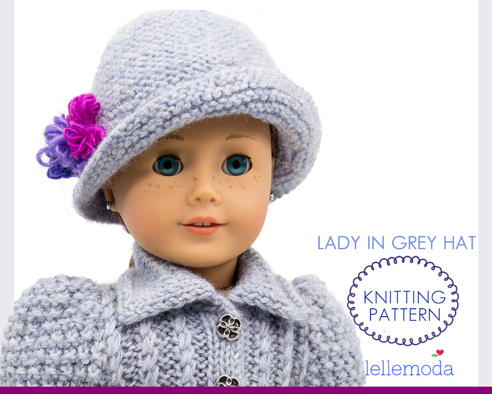 Cloche Hat For 18 Inch Dolls