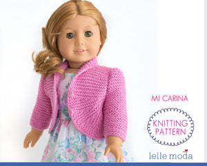 cardigan for 18 inch dolls