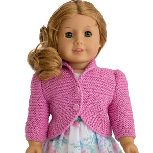 American Girl doll cardigan