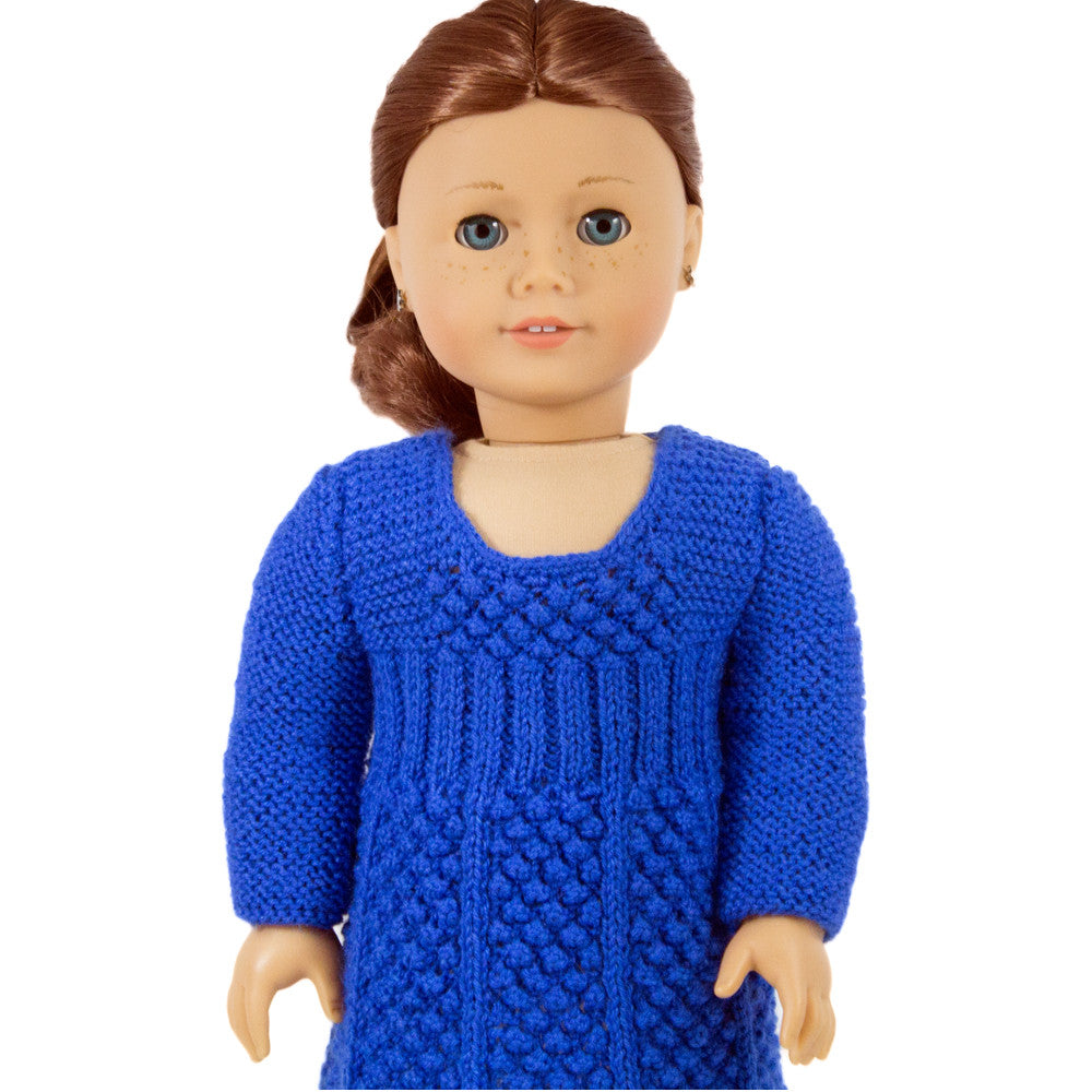 Dress pattern for American Girl doll, Celesta dress