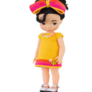 Summer dress pattern for Disney Animators dolls