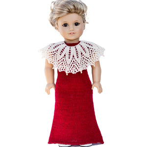 Party dress for American Girl doll