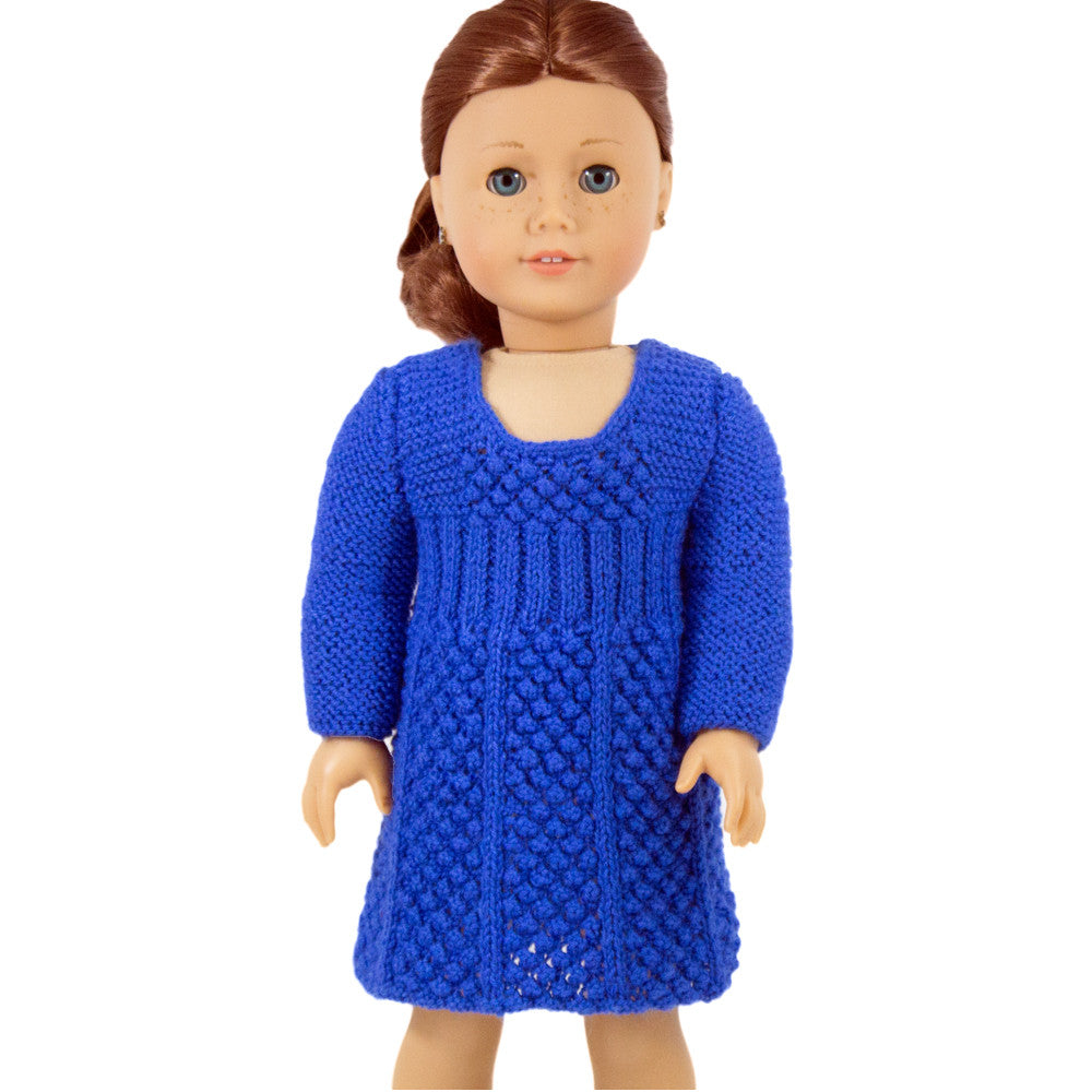 Dress pattern for 18 inch dolls, Celesta dress