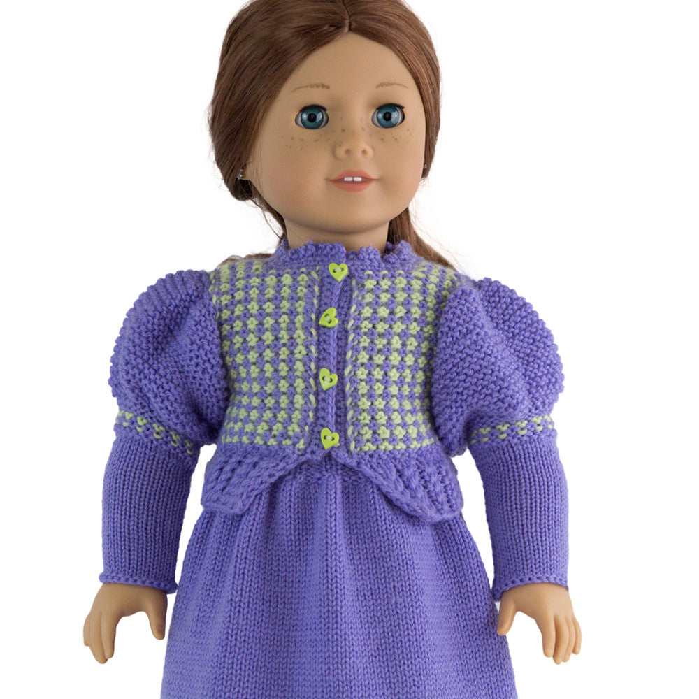 Gigot clothes pattern for American Girl doll