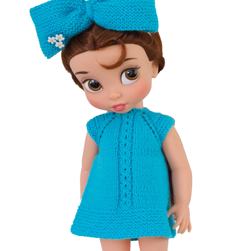 Dolls clothes dress  pattern for Disney Animators dolls