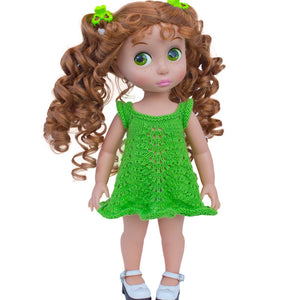 Dress pattern for Disney Animators dolls