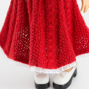 Knitted dress for Disney Animators dolls
