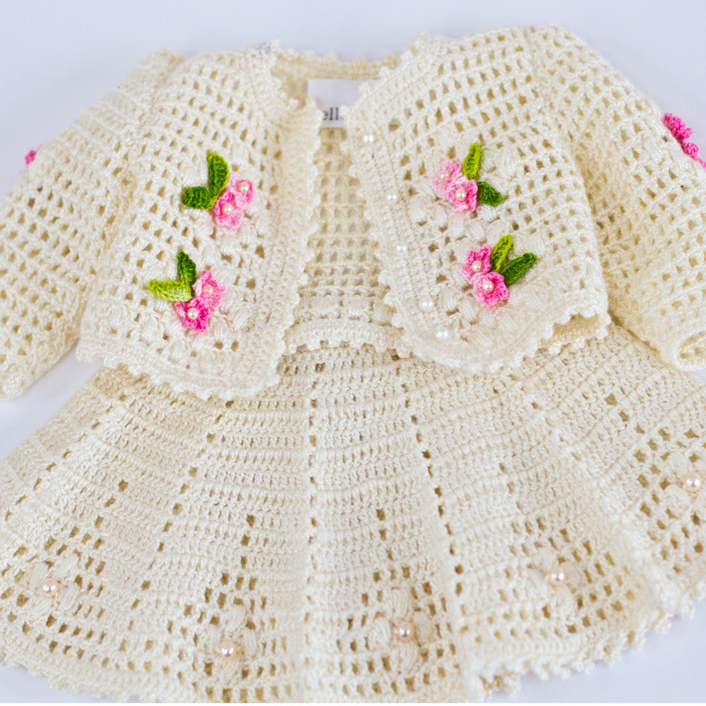 Crochet dress for American Girl doll