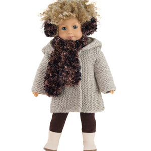 winter coat for AG dolls