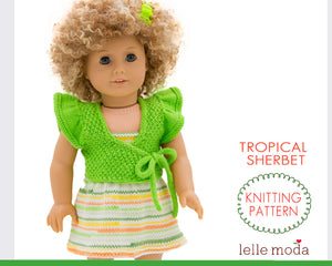 summer dress for 18 inch dolls