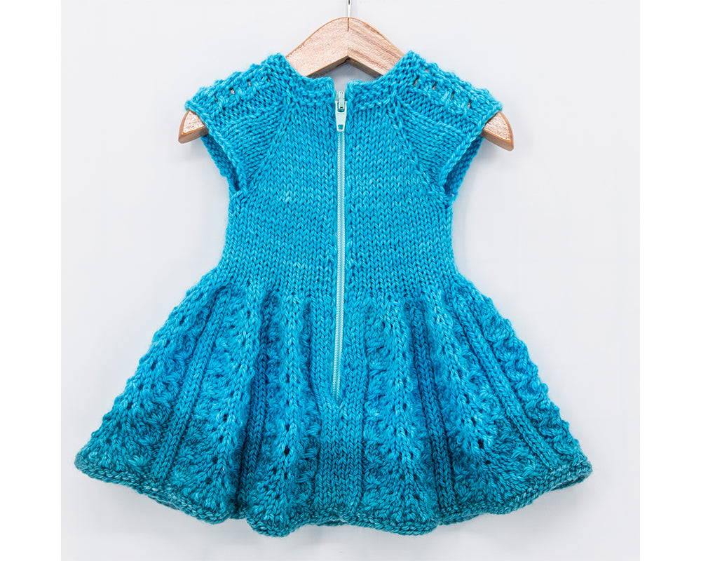 Bluebird Dress for 18 inch Dolls