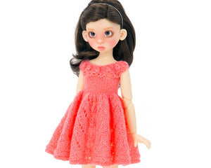 Doll dress pattern MSD BJD