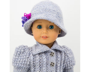 cloche hat for dolls