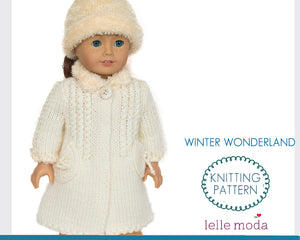 winter coat pattern for america girl doll