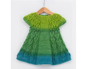 doll knitting dress