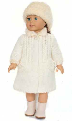american girl doll coat pattern