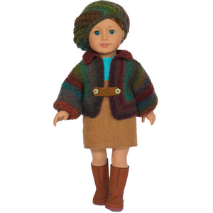 fall outfit for 18 inch doll