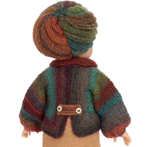 beret hat for 18 inch doll