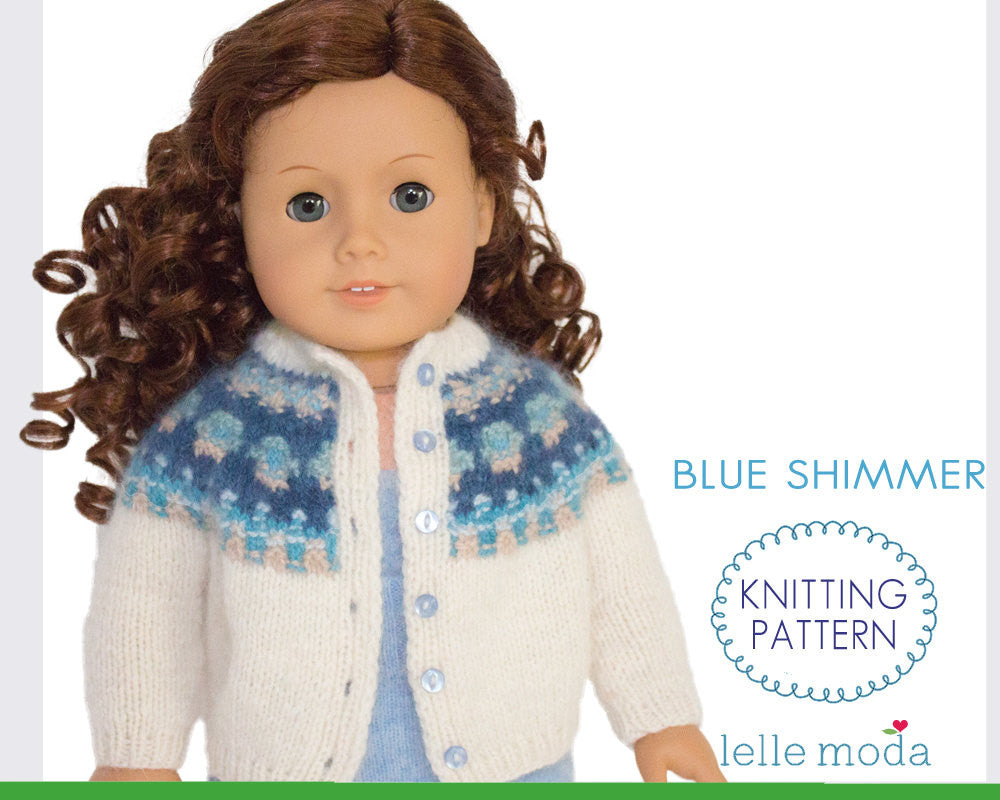 Bohus cardigan for 18 inch Dolls