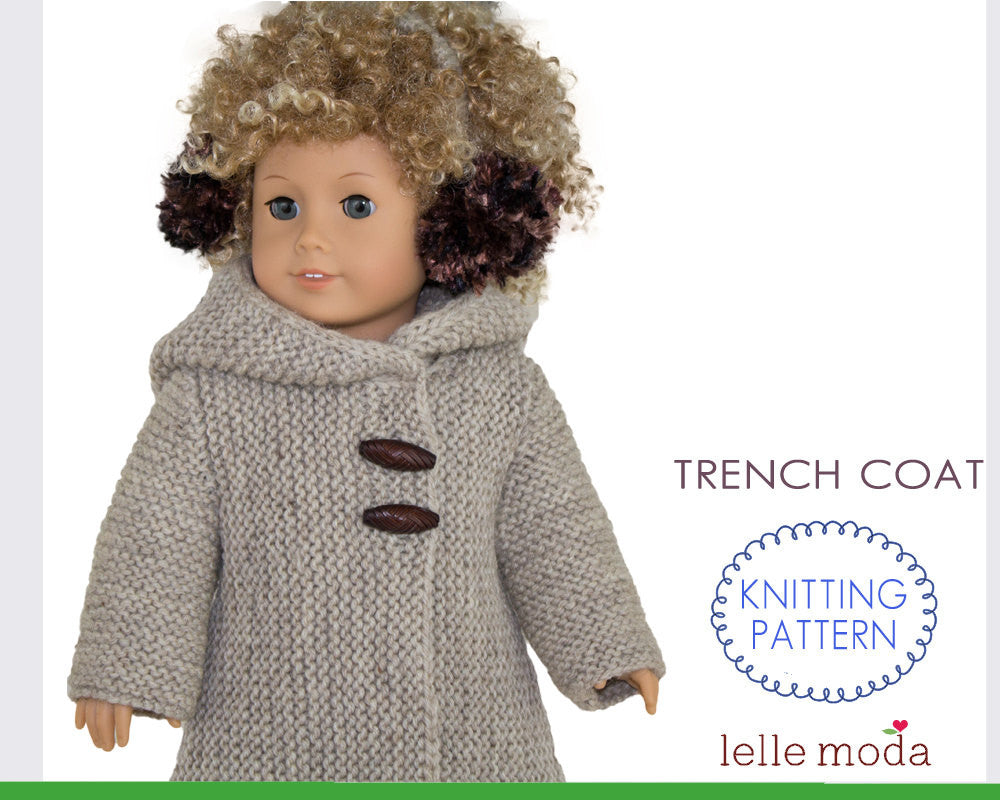 Trench Coat for American Girl Dolls