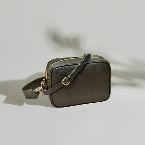ANGELA ROI Zuri Multifunction Pouch | Light Mud Grey