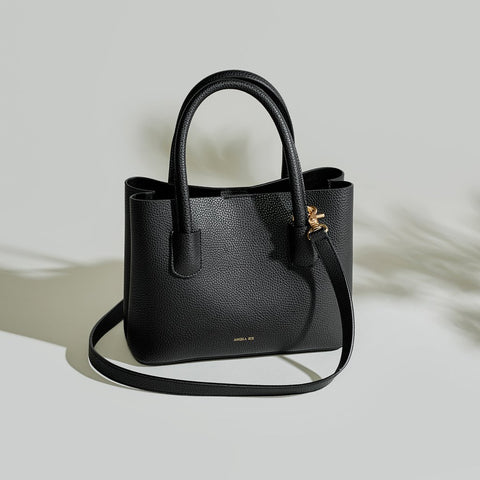 ANGELA ROI Grace Mini Cross Body | Black [Signet]
