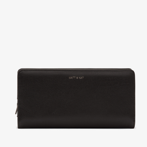 MATT & NAT Duma Wallet | Black