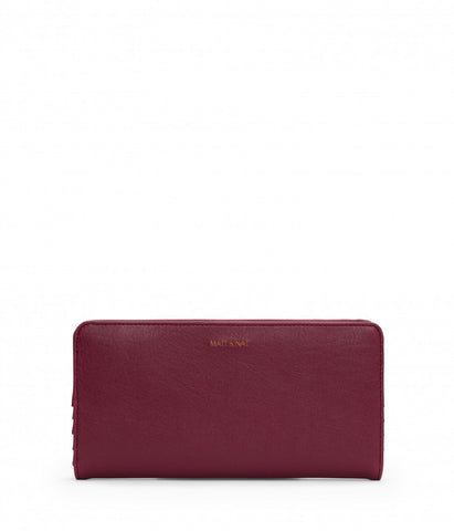 MATT & NAT Duma Wallet | Garnet
