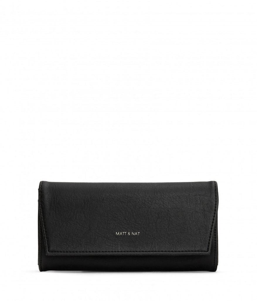 MATT & NAT Vera Wallet | Black