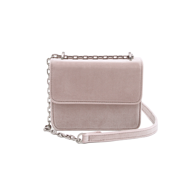 DENISE ROOBOL Mini Cruise Bag | Nude Velvet
