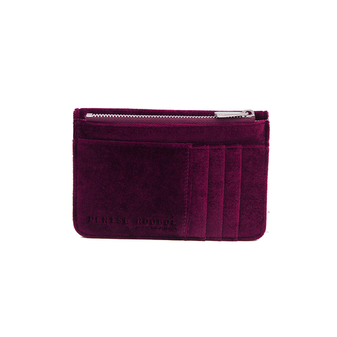 DENISE ROOBOL Mini Wallet | Grey Stripe