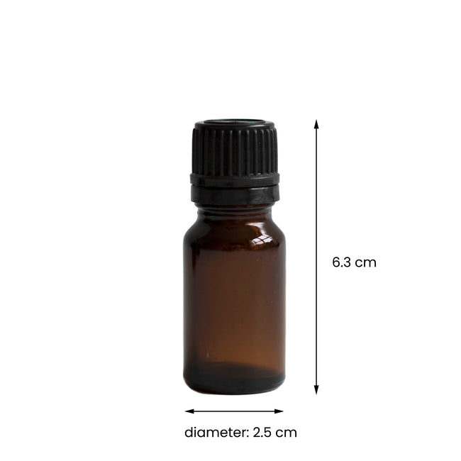 Glass Bottle - Amber (10 ml)