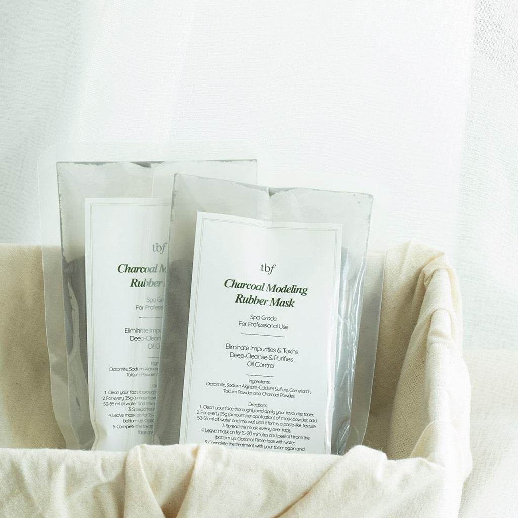 [New launch Promo] Charcoal Modeling Rubber Mask (25g Duo Pack)