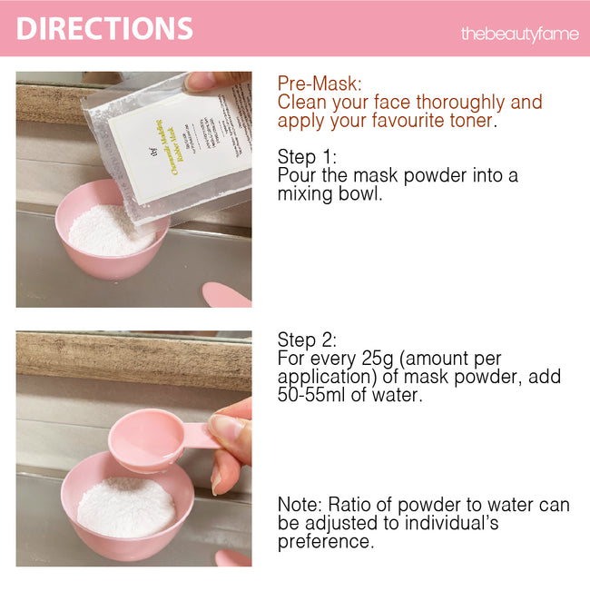 Rose Petals Modeling Rubber Mask (25g Duo Pack)
