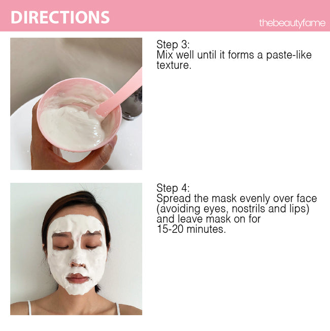 Peppermint Modeling Rubber Mask (25g Duo Pack)