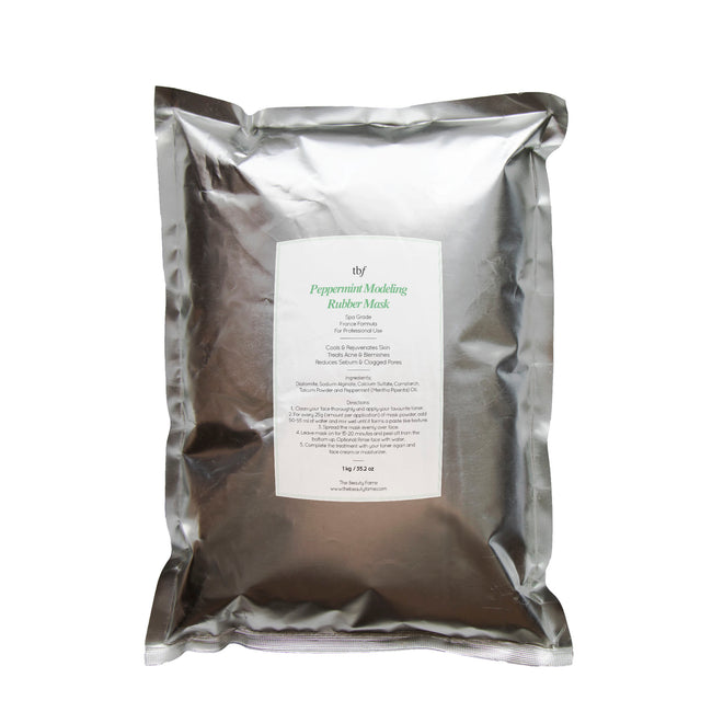 Peppermint Modeling Mask 1kg Salon Pack