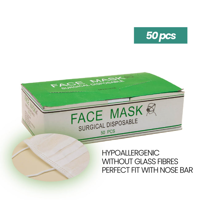 2-Ply Surgical Disposable Non-Woven Face Mask (50 count/box)