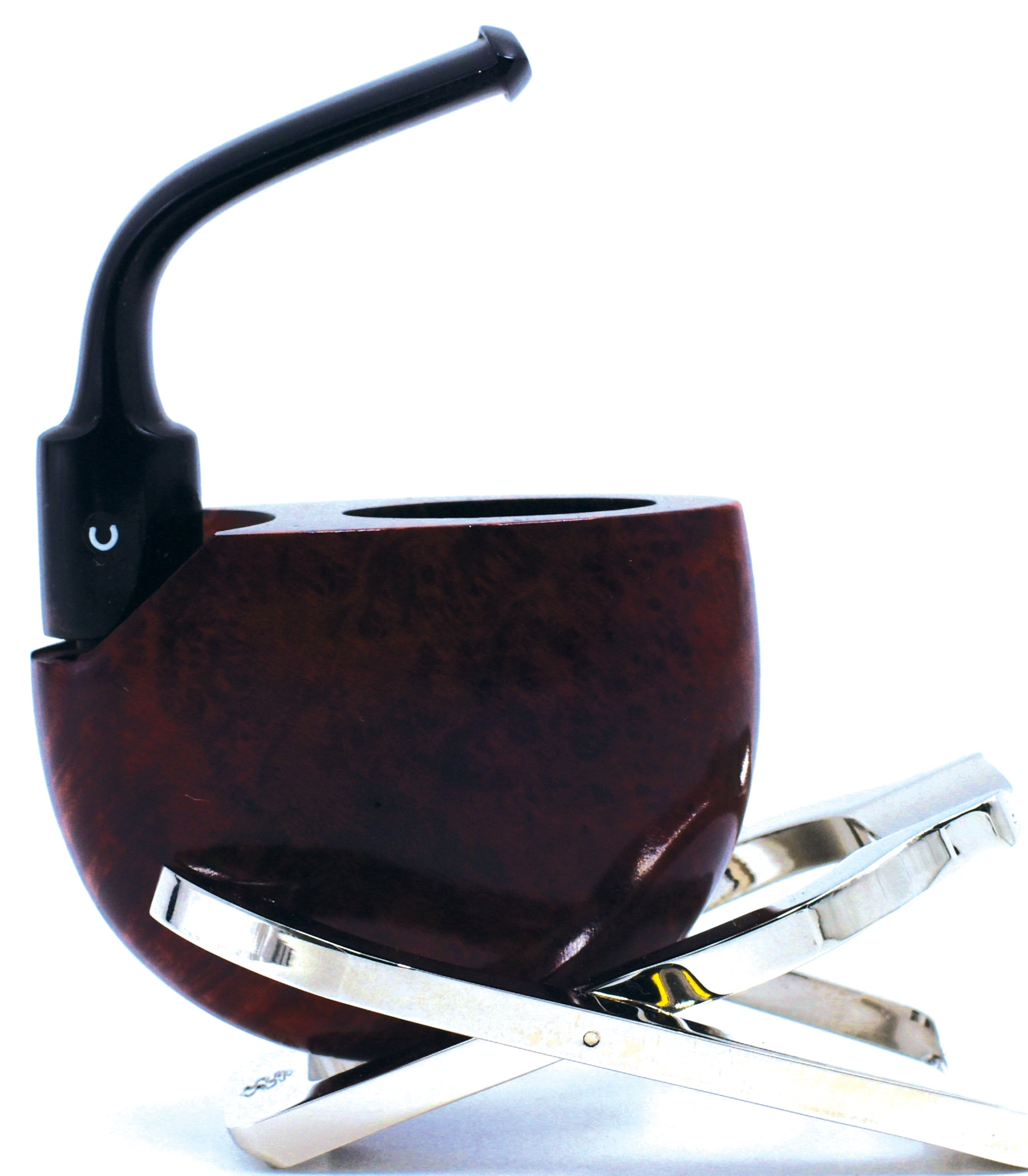 COMOY'S OF LONDON® VEST POCKET* Non-Filtered Briar Smoking Pipe Made in England Since 1825 / 01-01-102 Polish Dark