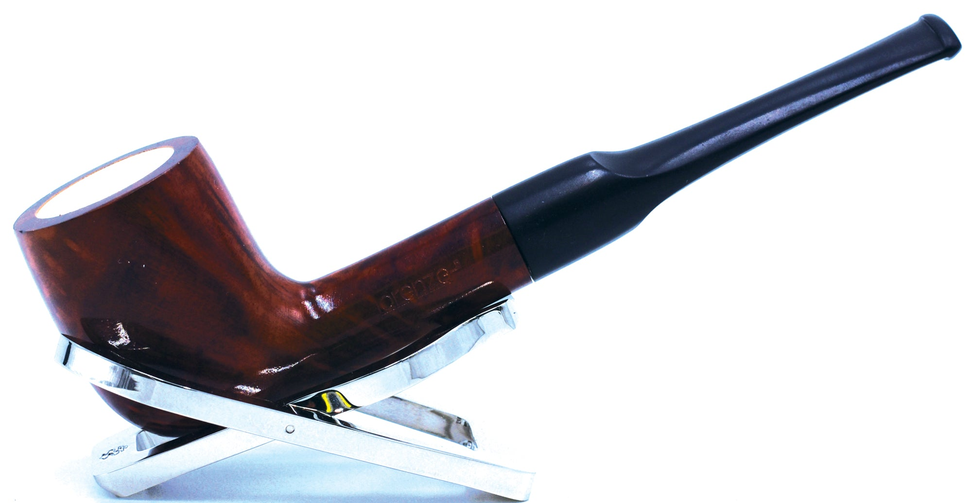 LORENZO® Meerschaum-lined Briar Smoking Pipe Made by Mediterranean Meerschaum and Briar In Italy 01-03-200