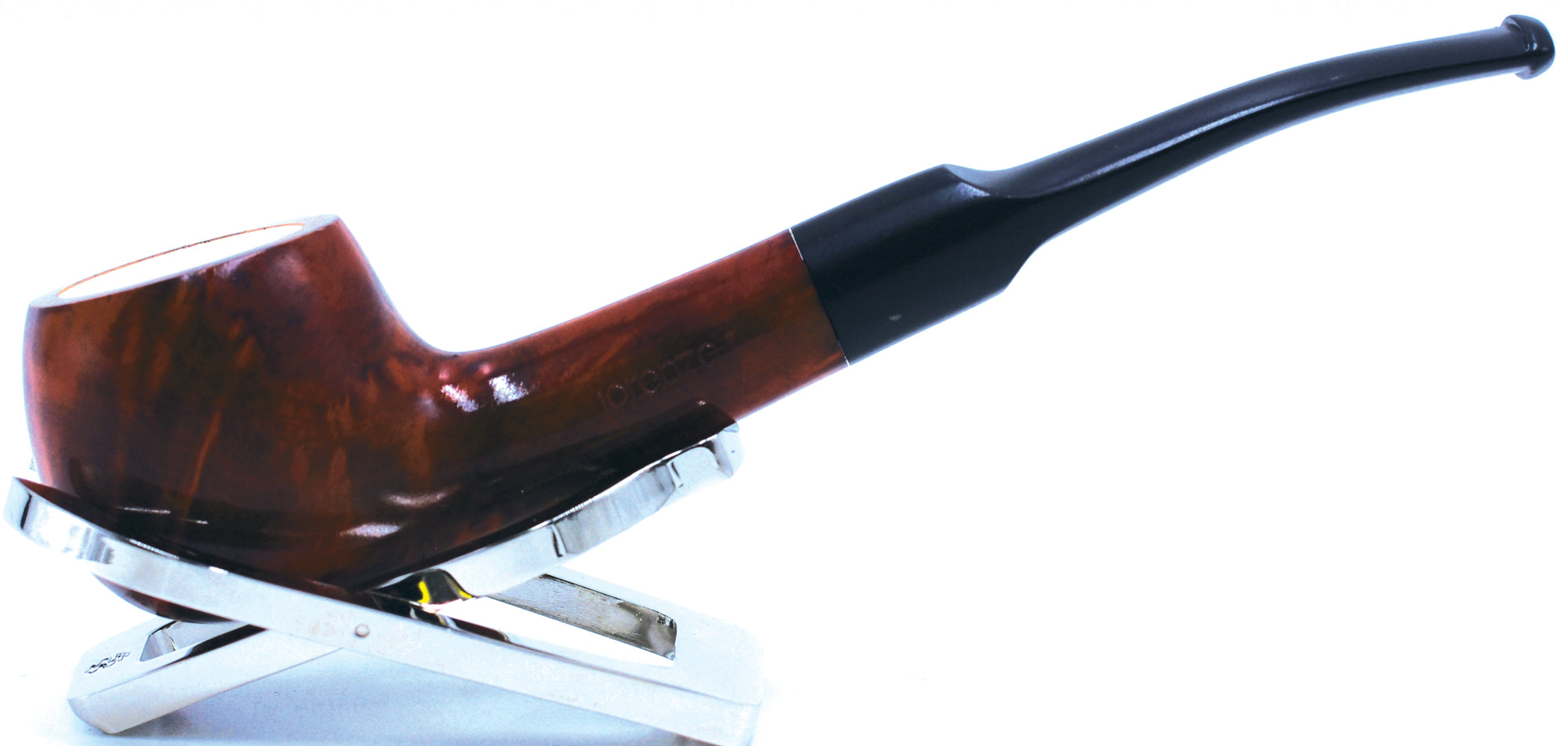 LORENZO® Meerschaum-lined Briar Smoking Pipe Made by Mediterranean Meerschaum and Briar In Italy 01-03-600