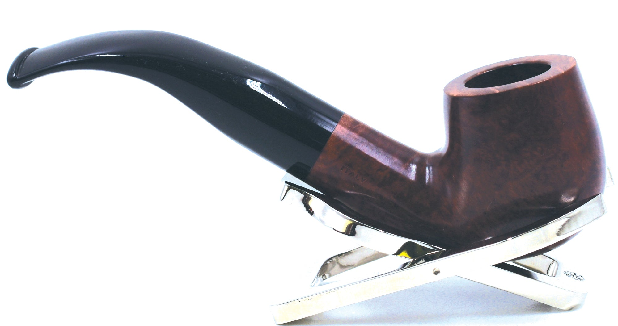 LEGENDEX® SCALADI* 9 MM Filtered Briar Smoking Pipe Made In Italy 01-08-101