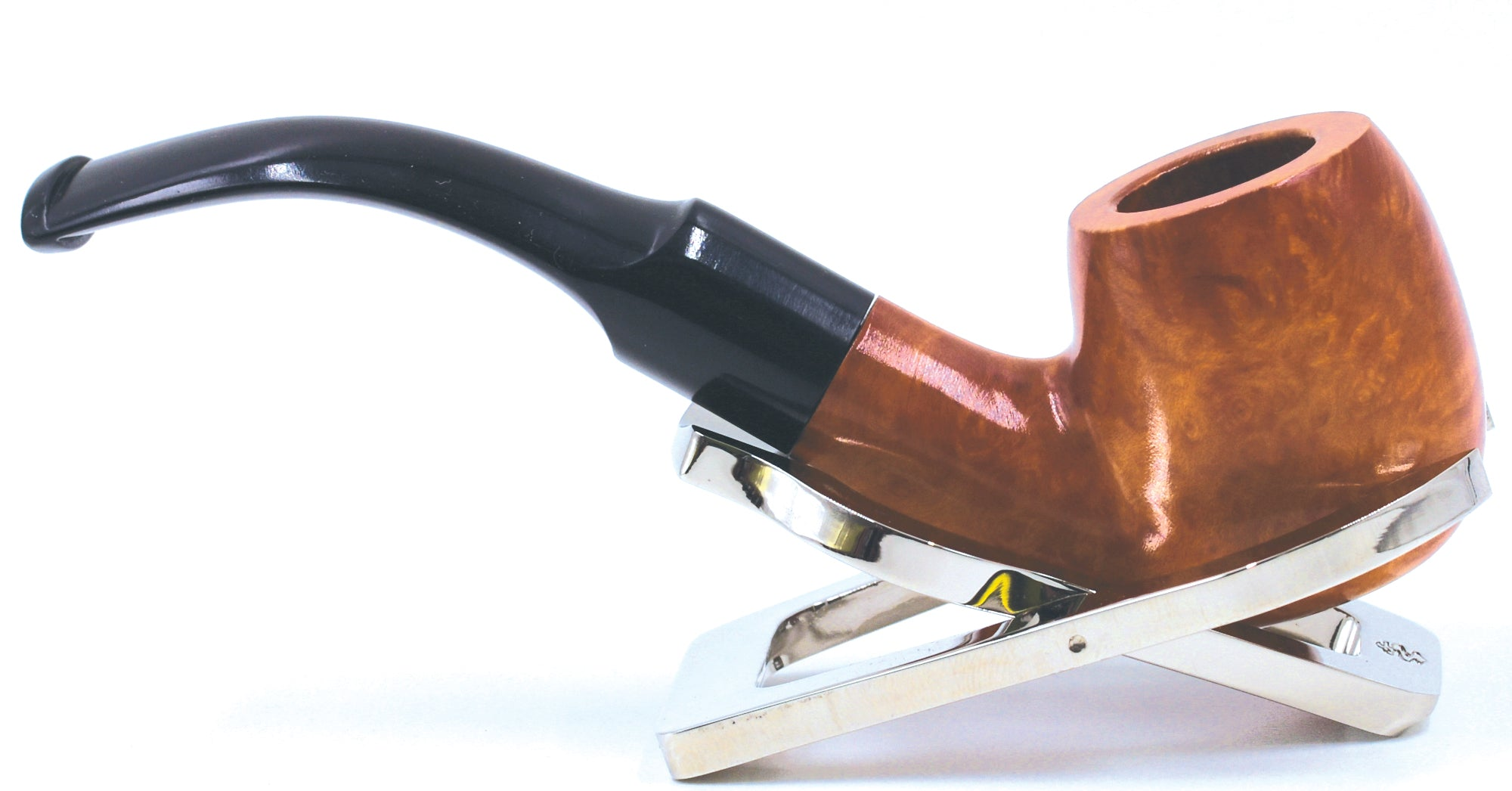 LEGENDEX® SCALADI* 6 MM Filtered Briar Smoking Pipe Made In Italy 01-08-103