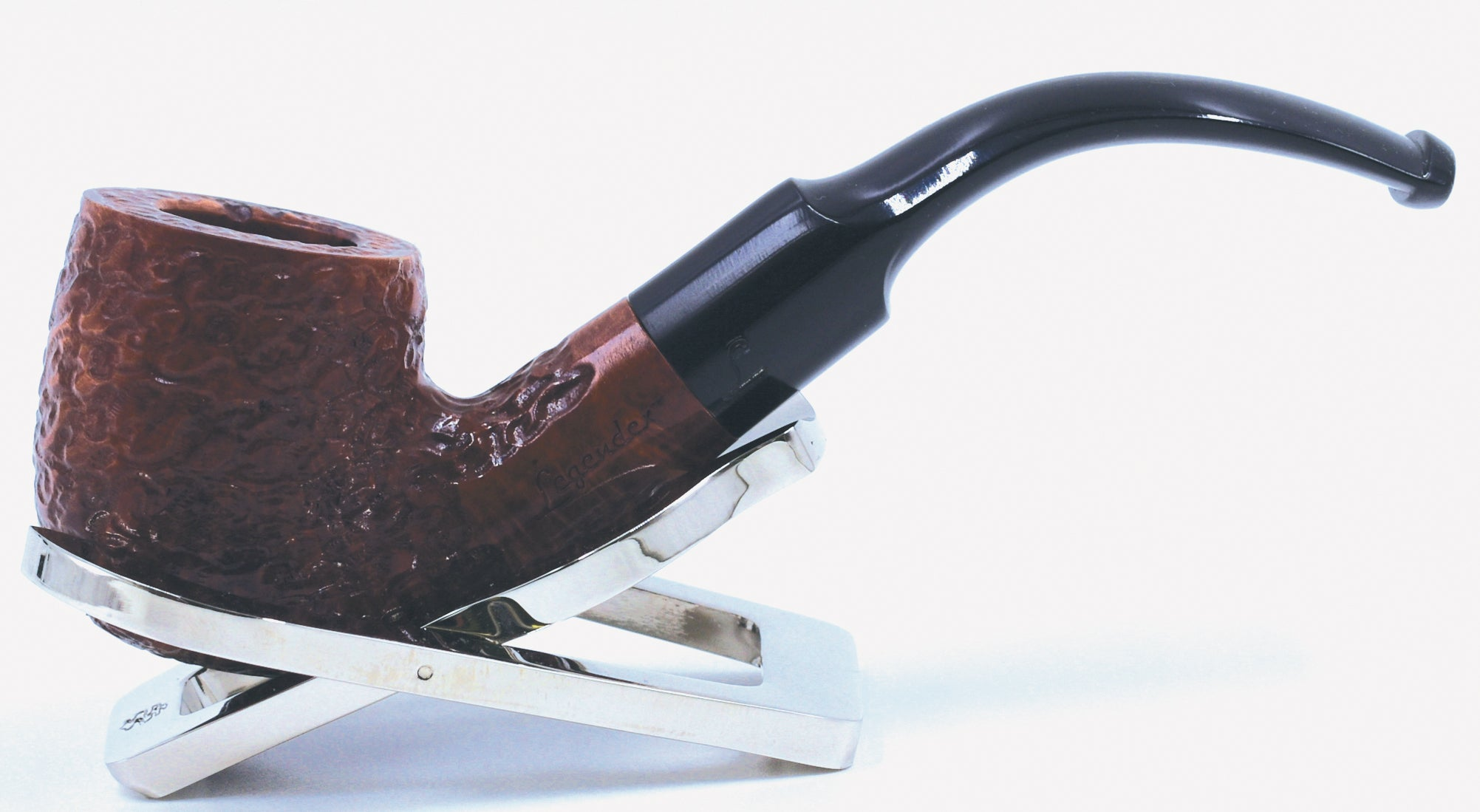 LEGENDEX® SCALADI* 6 MM Filtered Briar Smoking Pipe Made In Italy 01-08-106