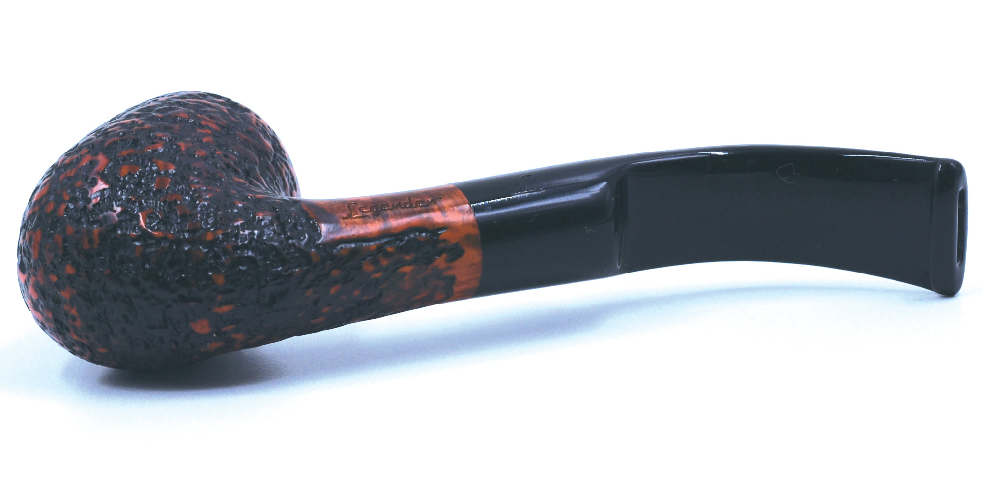 LEGENDEX® SCALADI* 9 MM Filtered Briar Smoking Pipe Made In Italy 01-08-107