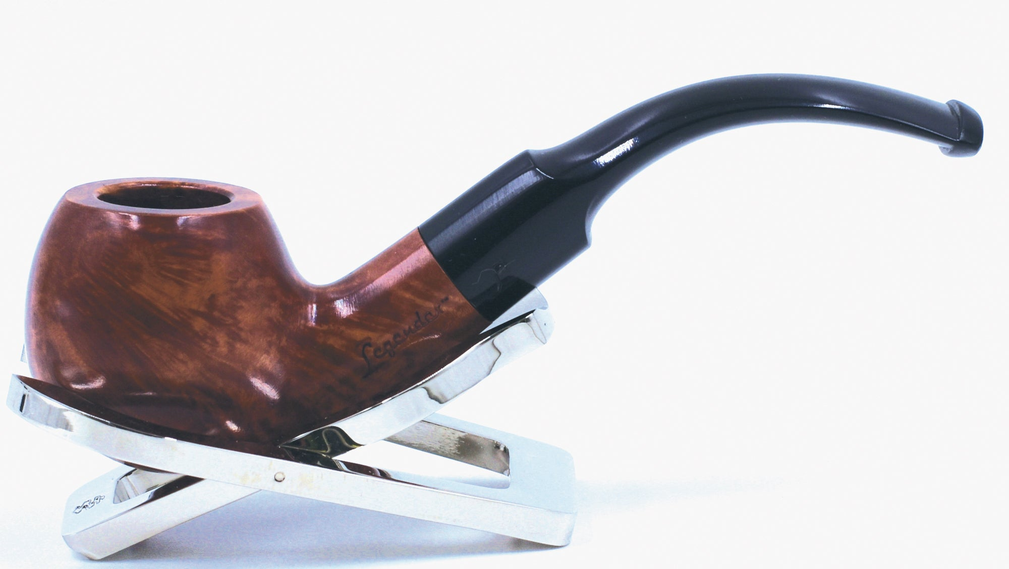 LEGENDEX® SCALADI* 6 MM Filtered Briar Smoking Pipe Made In Italy 01-08-108