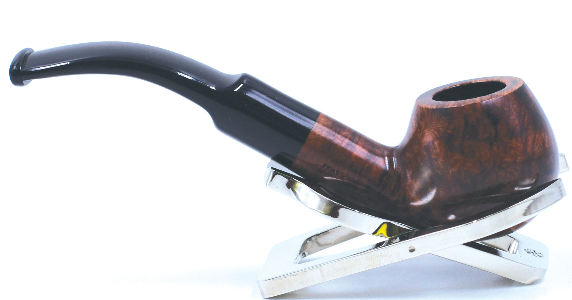 LEGENDEX® SCALADI* 9 MM Filtered Briar Smoking Pipe Made In Italy 01-08-109
