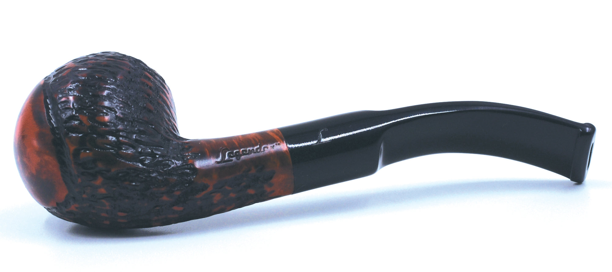 LEGENDEX® SCALADI* 9 MM Filtered Briar Smoking Pipe Made In Italy 01-08-111